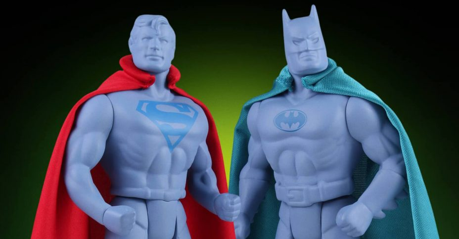 Gentle Giant SDCC 2016 DC Super Power Protos Batman and Superman 001