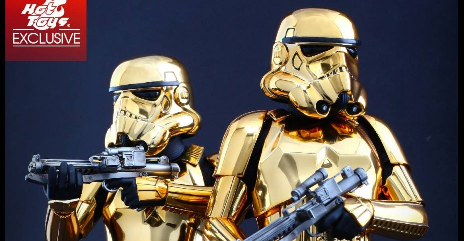 Hot Toys China Exclusive Gold Stormtrooper 002