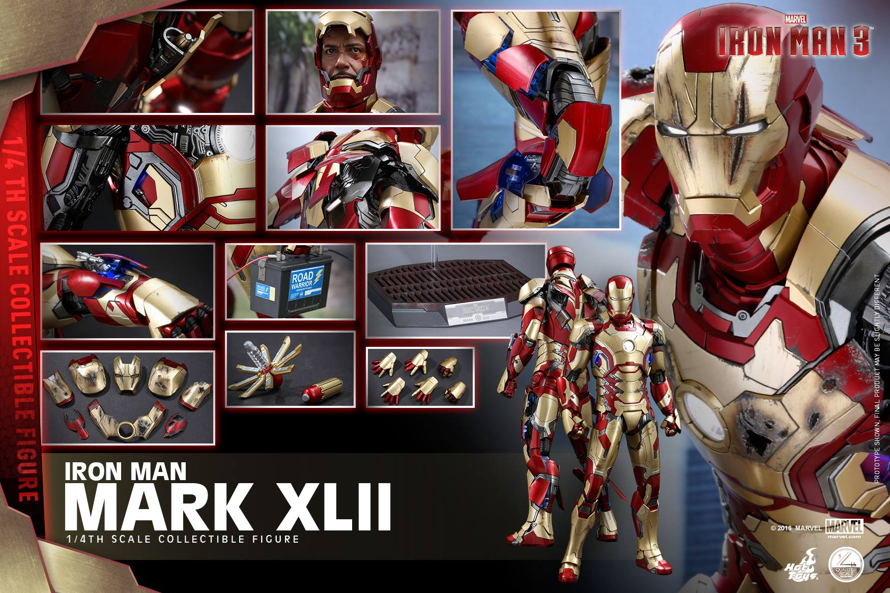 Hot Toys Quarter Scale Iron Man Mark 42 - Toy Discussion at