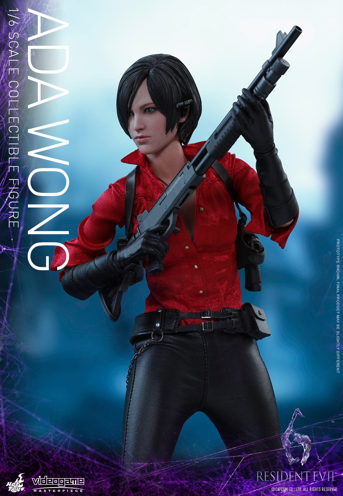 Hot Toys Leon Kennedy and Ada Wong Resident Evil 6 Figures ...