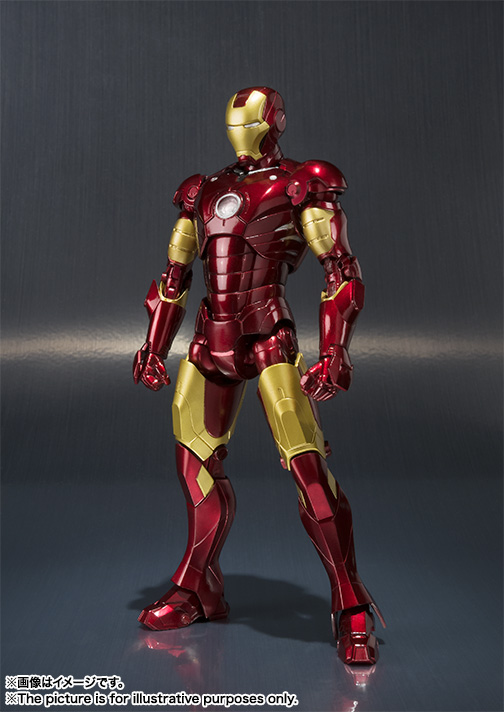Iron Man Mark 3 SH Figuarts Official Details and Photos ...