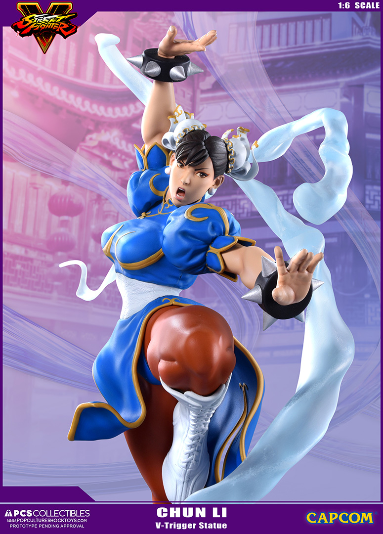 Street Fighter V Chun Li V Trigger Statue Preview By Pcs Toys The Toyark News