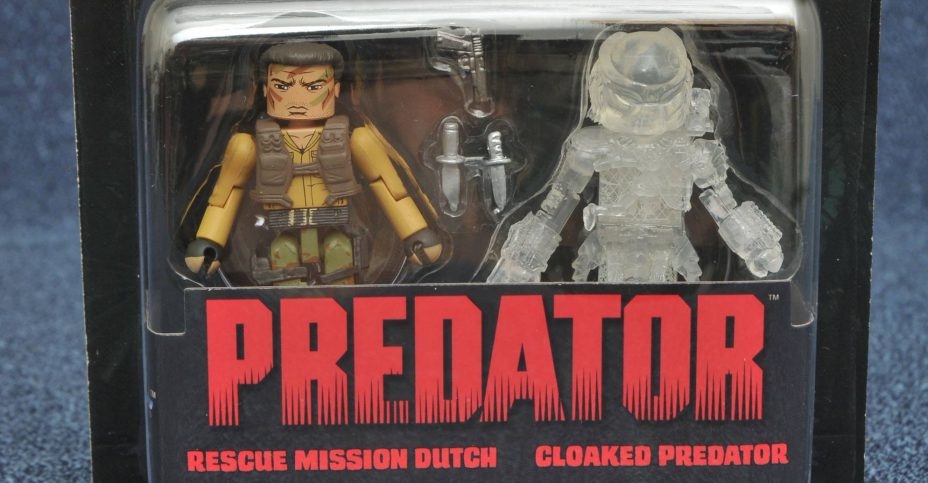 Predator Minimates Rescue Dutch and Cloaked Predator