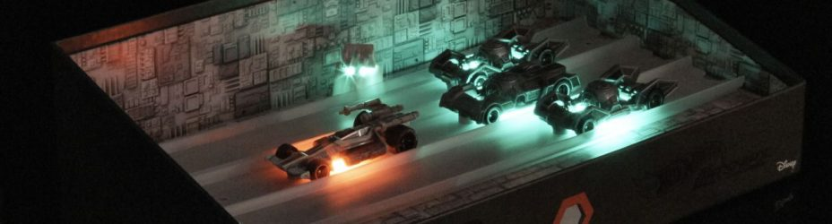 SDCC2016 Star Wars Hot Wheels Trench Run 002