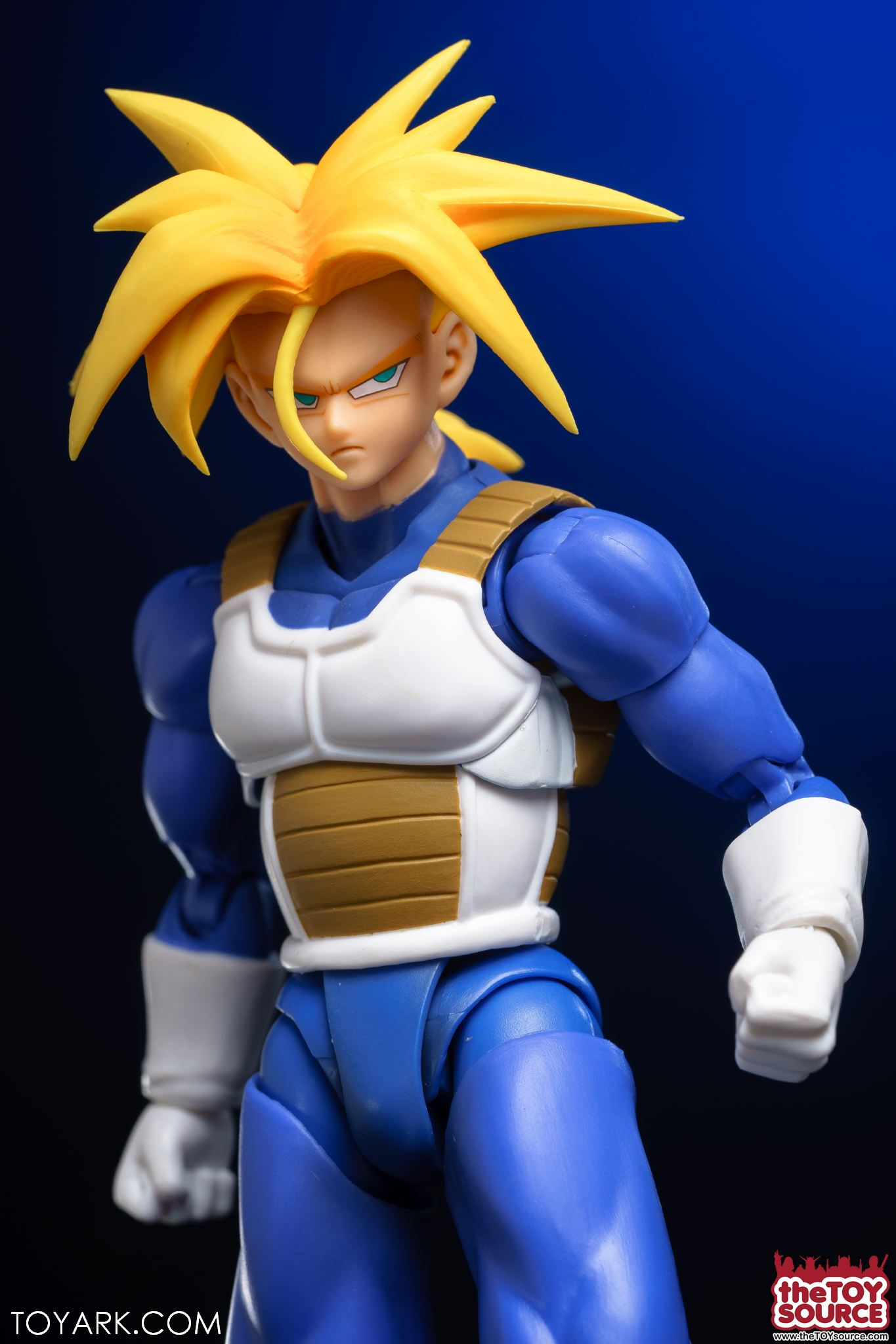 S H Figuarts Super Saiyan Armor Trunks In Hand Gallery The Toyark News The saiyan battle armor is a crafted armor set crafted from skeletal essences and hellstone bars. the toyark