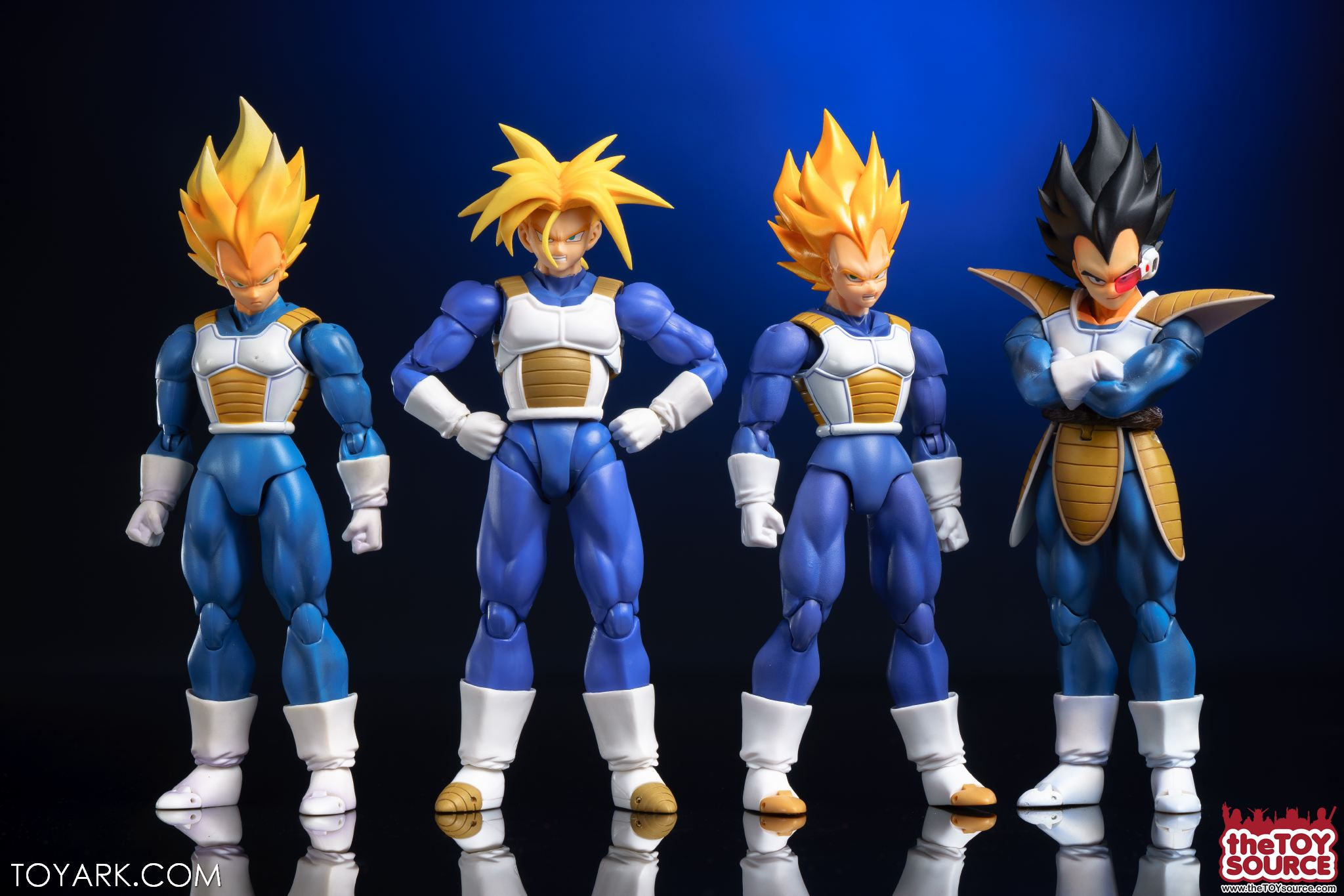 S H Figuarts Super Saiyan Armor Trunks In Hand Gallery The Toyark News However i do love the fact that i have a vegeta figure with all his original saiyan armor and scouters and his tail. the toyark
