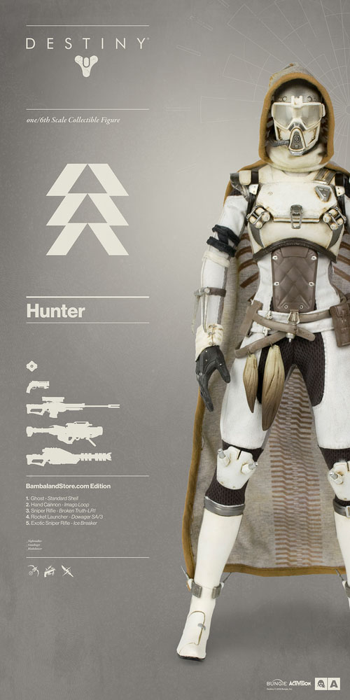 New images of destiny hunter and warlock figure by 3a the toyark