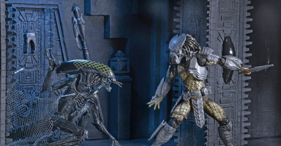 AvP Temple Pillar Diorama 004