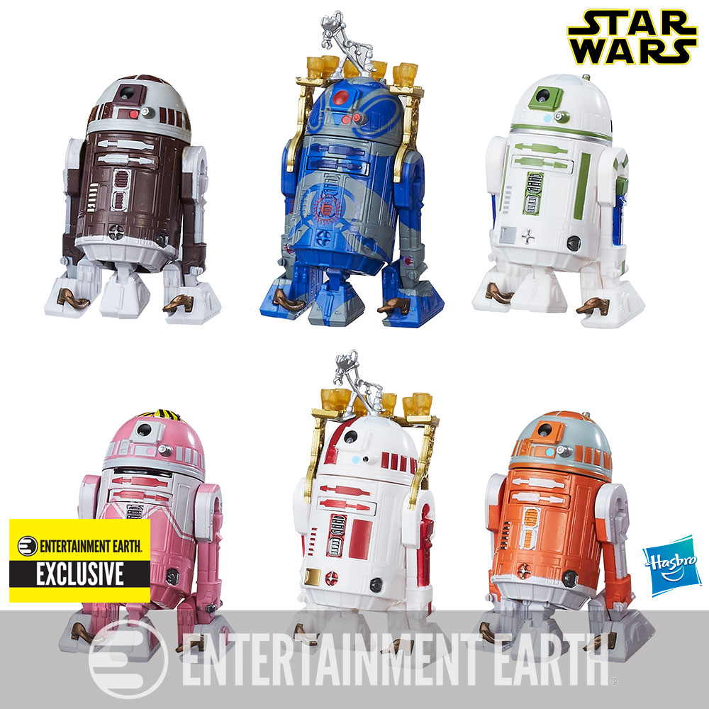 Star Wars Droids Toys : Star wars astromech droids inch figure pack ee