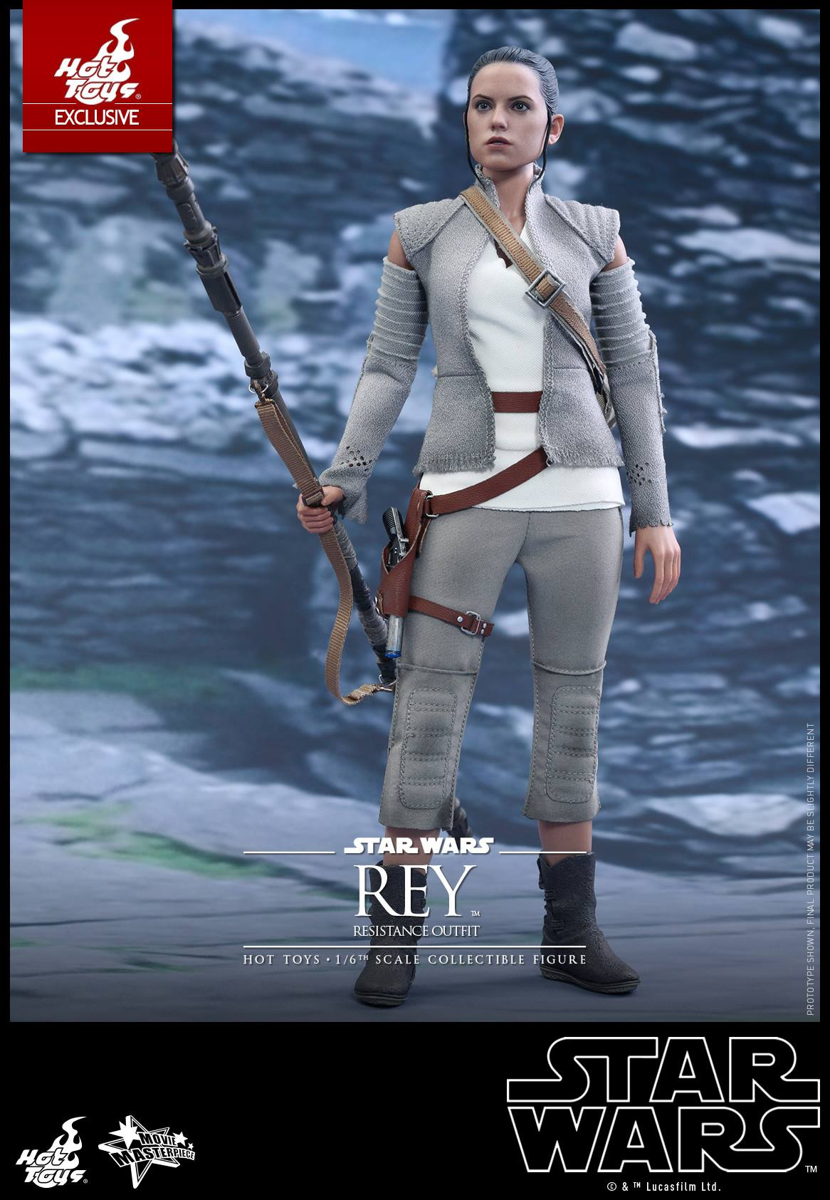 Hot Toys Star Wars The Force Awakens Resistance Outfit
