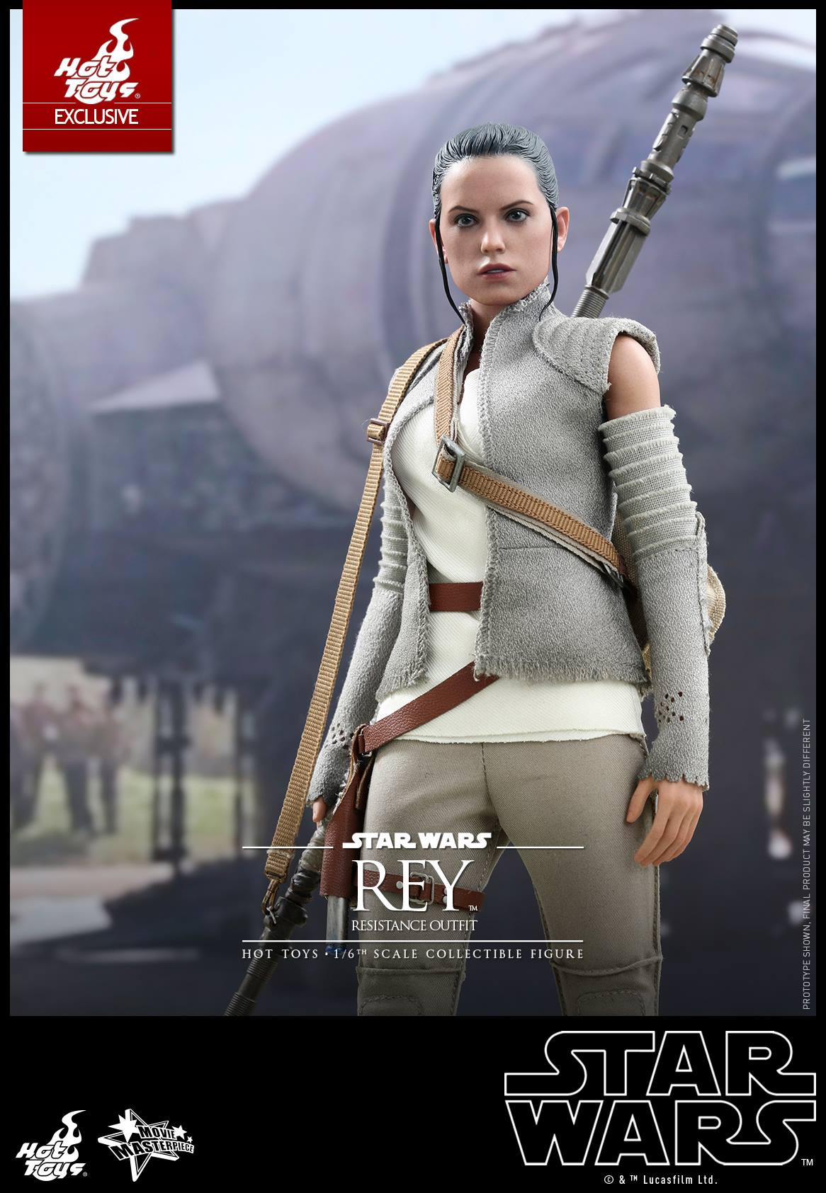 Hot Toys Star Wars: The Force Awakens Resistance Outfit Rey