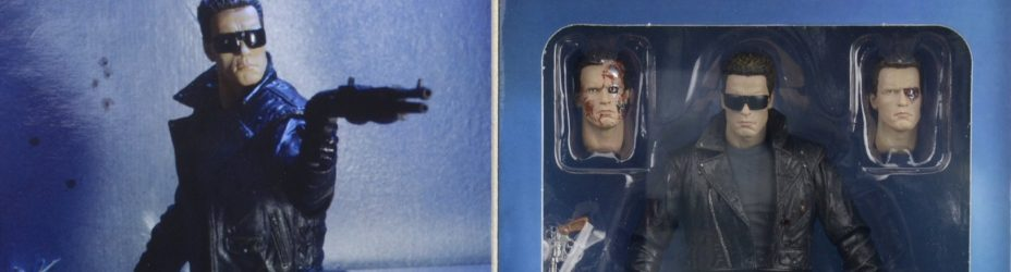 NECA Police Assault T800 In Box