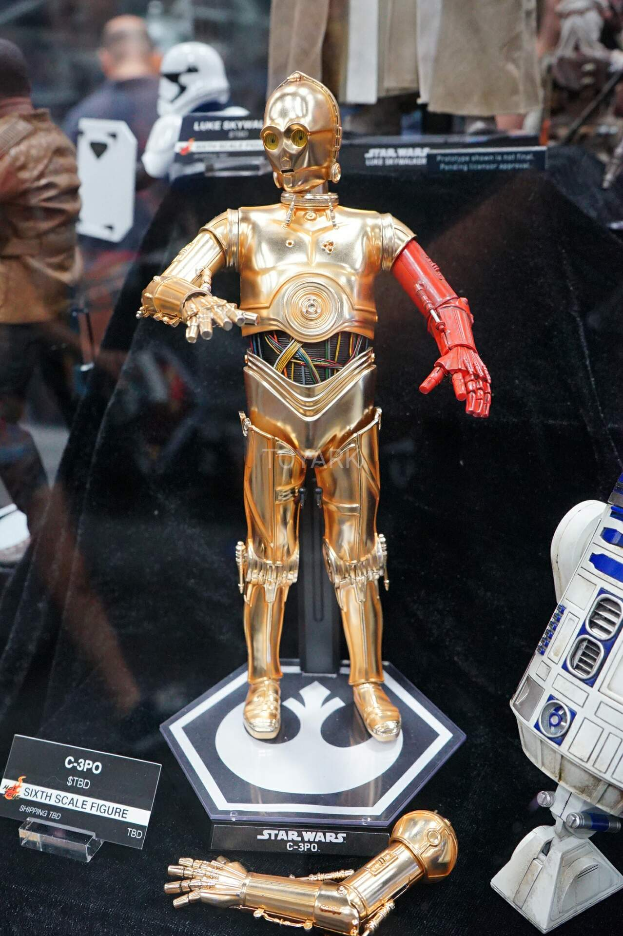 Toys Star Wars : Sdcc hot toys star wars the toyark news
