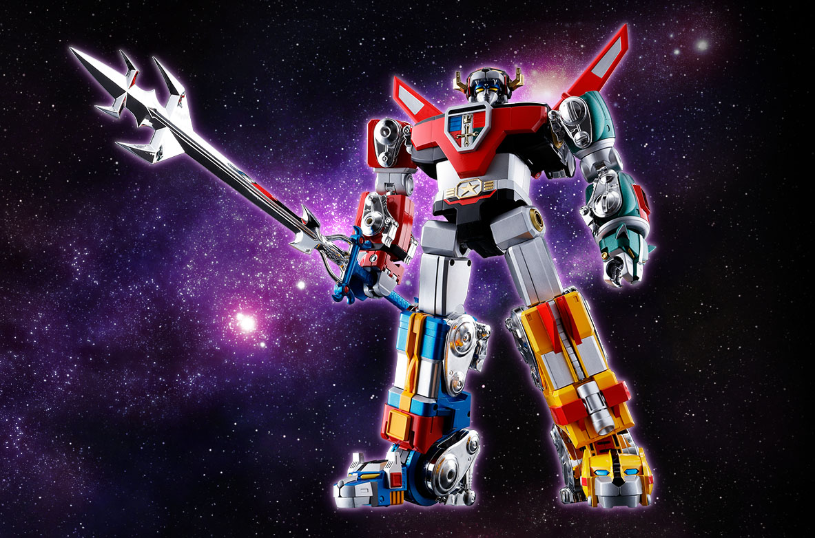 Better Images and More Details for the Soul of Chogokin GX ... Voltron