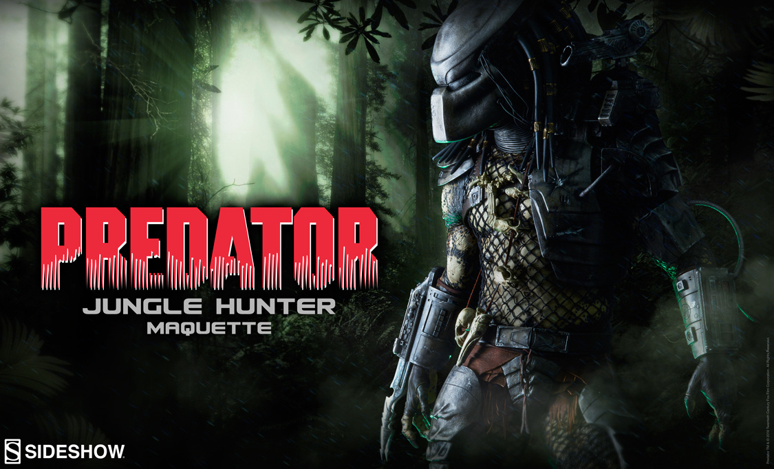 Sideshow Jungle Hunter Predator Teaser
