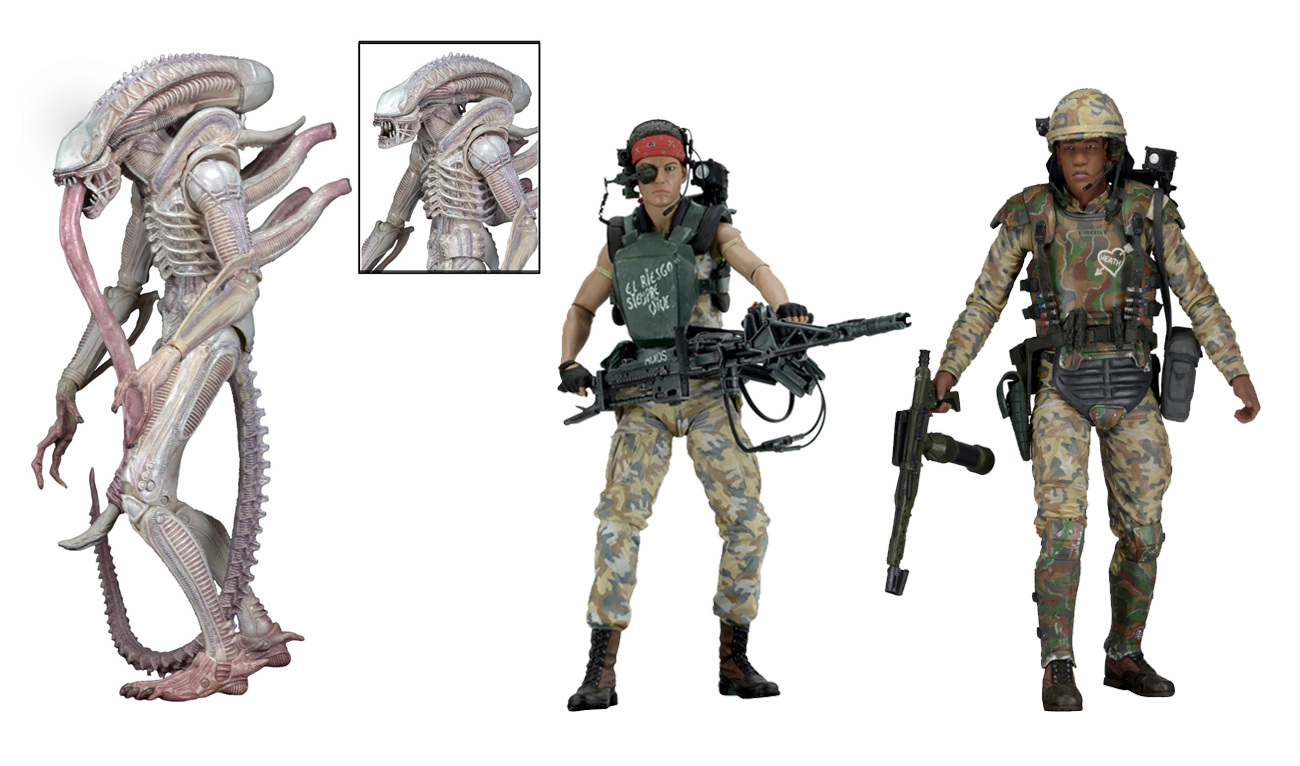 aliens series 9 figures meaning of names