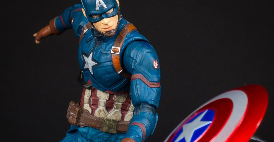 Captain America Civil War Marvel Select 12