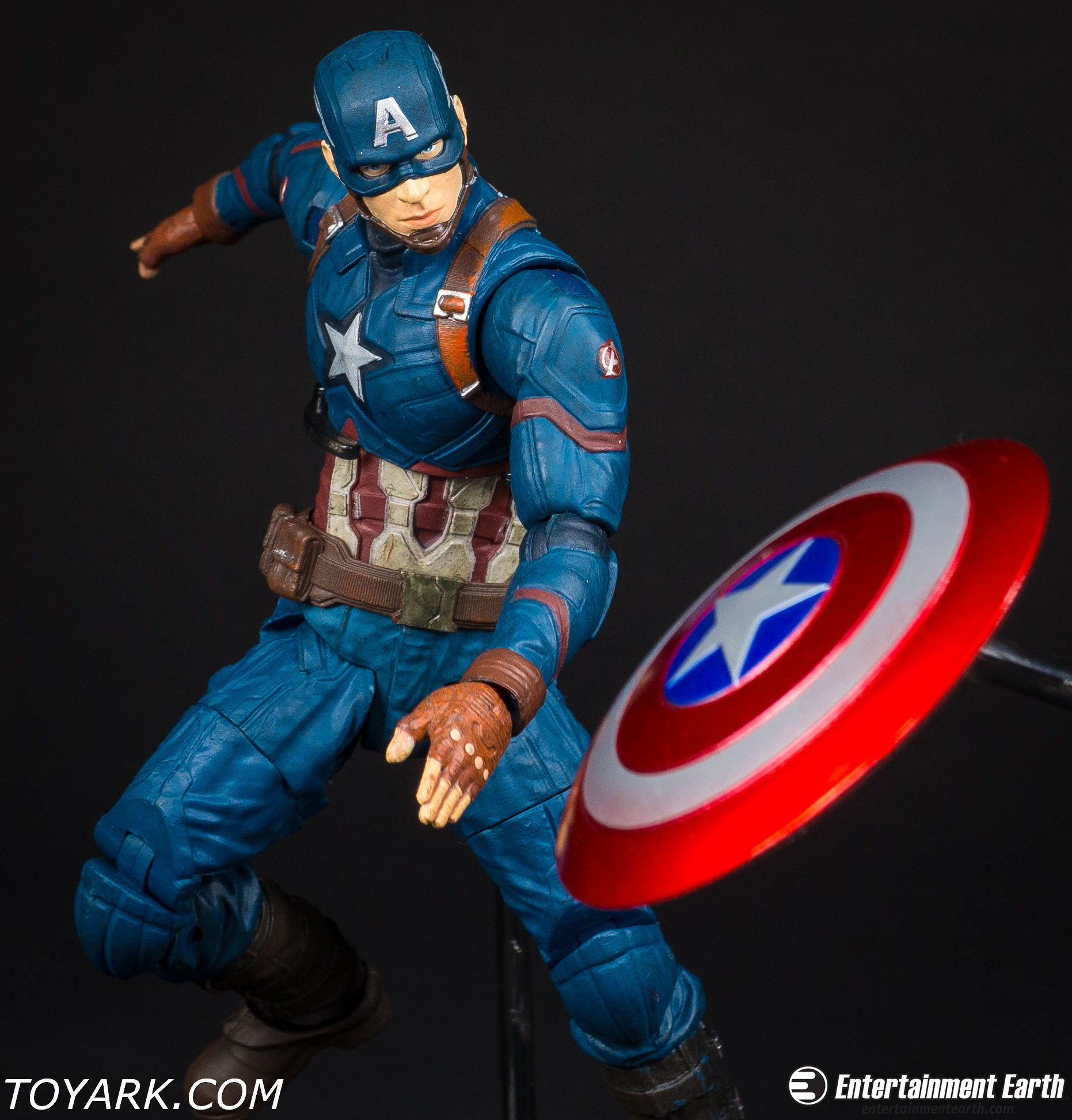 captain america civil war marvel select photo shoot the toyark news. Black Bedroom Furniture Sets. Home Design Ideas