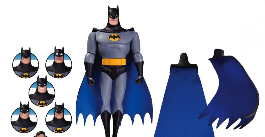 DCC Batman Animated Expressions Pack
