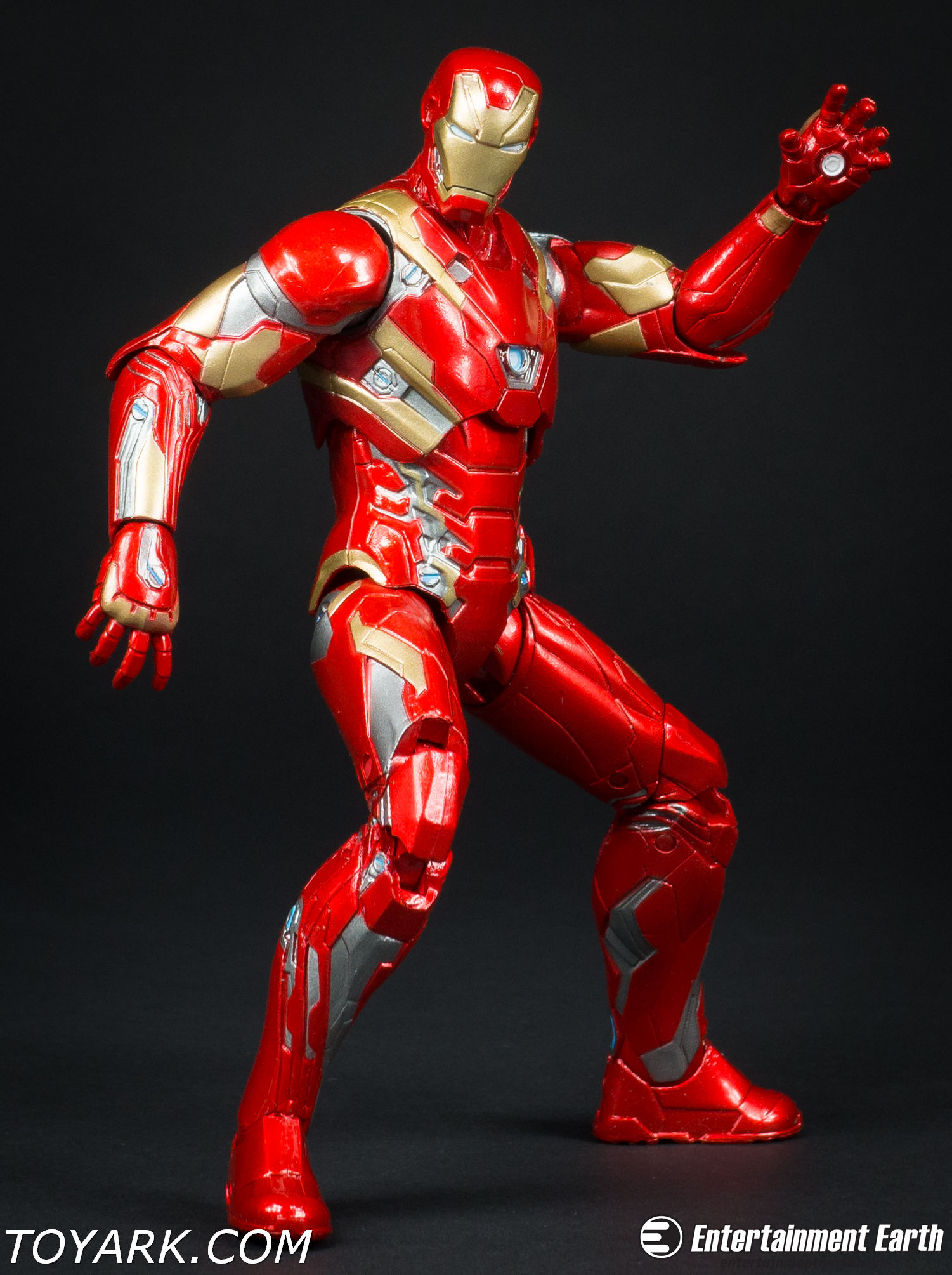 iron man mark 46 marvel select photo shoot the toyark news. Black Bedroom Furniture Sets. Home Design Ideas