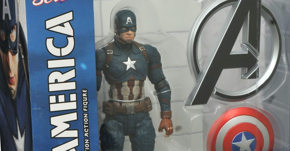 Marvel Select Civil War Captain America 1