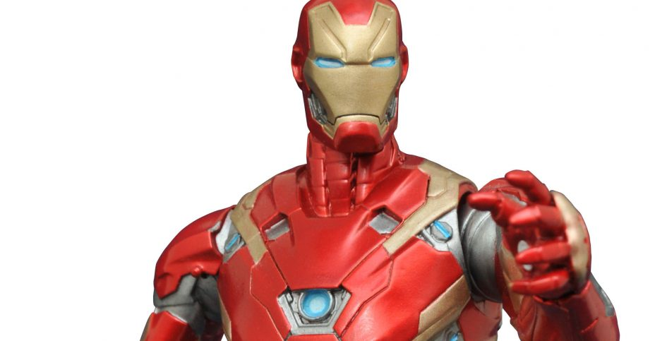 Marvel Select Civil War Iron Man 2