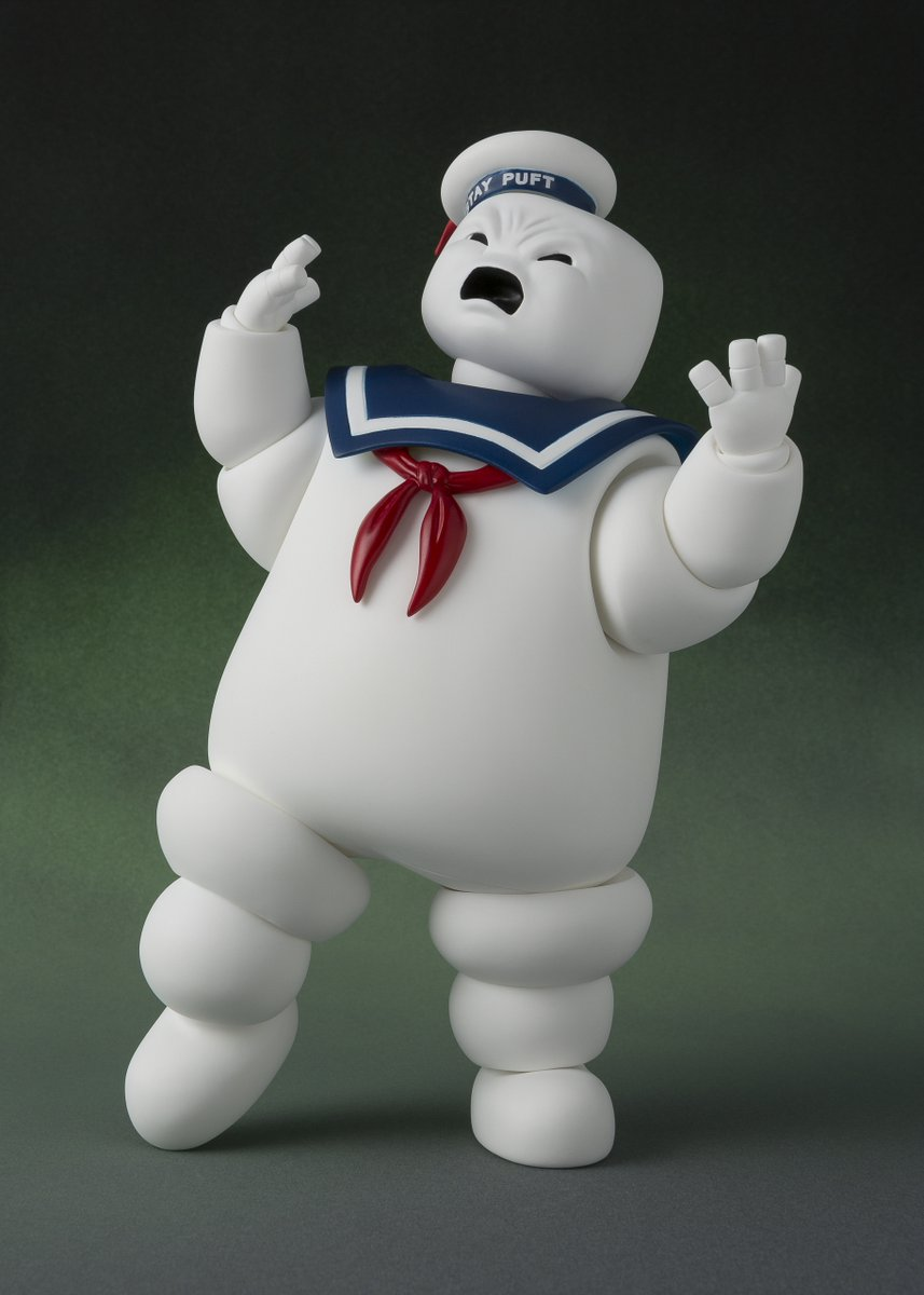 The Stay Puft Marshmallow Man Returns Cuter than Ever ... |Puft Marshmallow Man