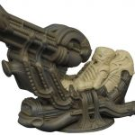 Aliens Minimates Deluxe Space Jockey Set 001