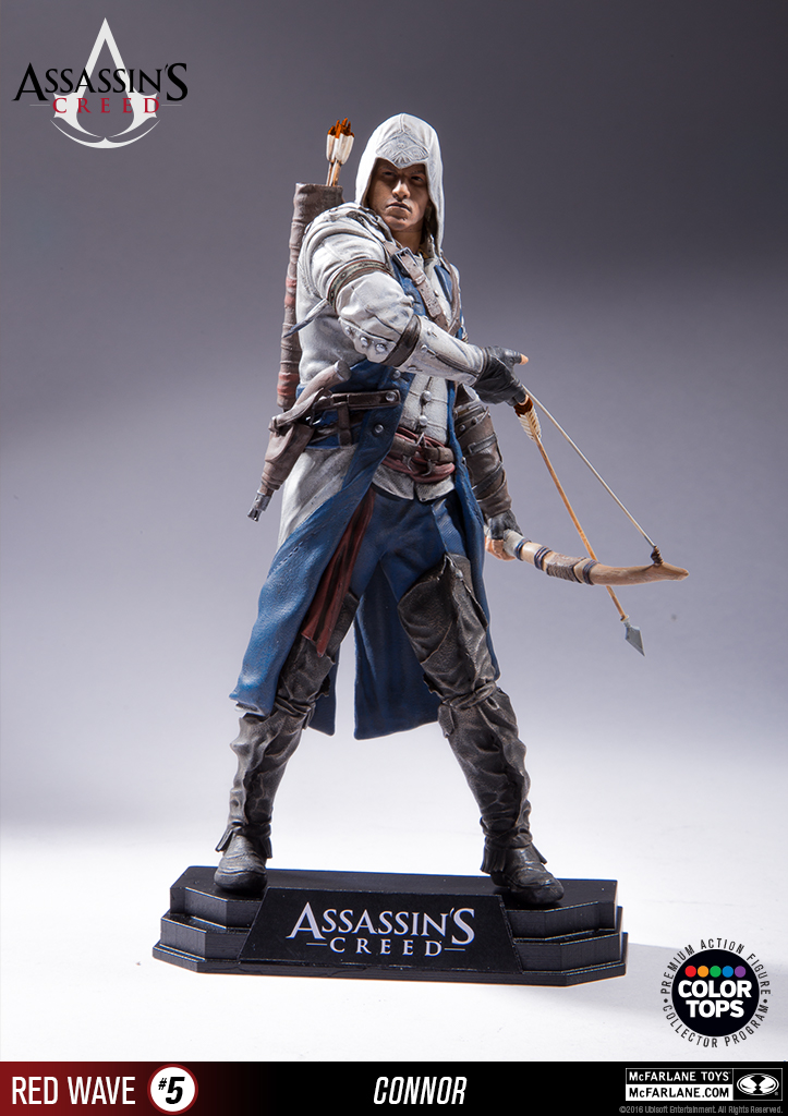 Assassin's Creed III Connor Color Tops Collection by ...