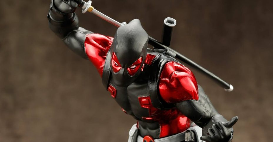 Deadpool Black Suit ARTFX 001