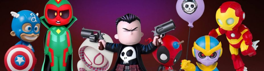 Gentle Giant Punisher Animated Statue 008