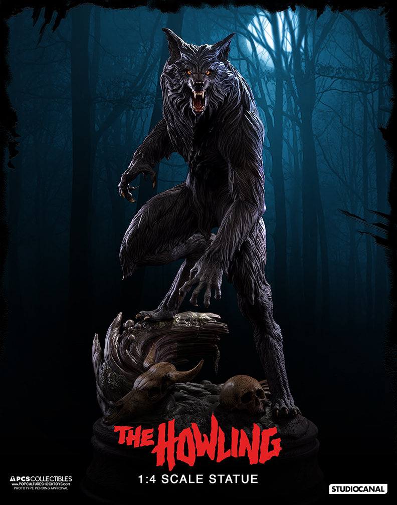 New Photo of The Howling Werewolf 1/4 Scale Statue - The ...