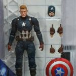 Marvel Select Civil War Unmasked Captain America 001