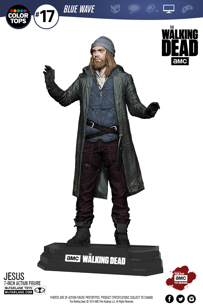 McFarlane Color Tops TWD Jesus - Toy Discussion at Toyark.com