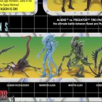 NECA Kenner AvP Card Back