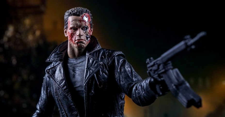 NECA Ultimate Police Assault T 800 049