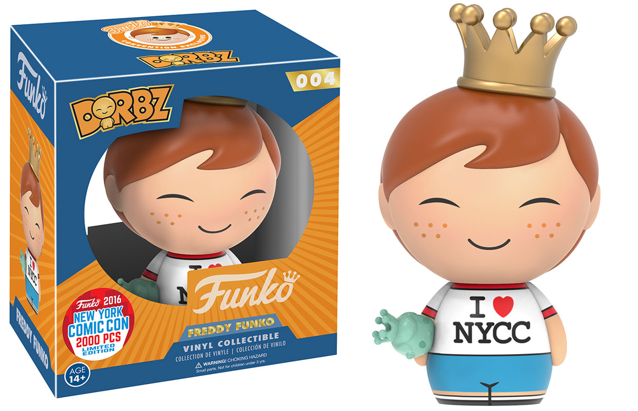 Funko Nycc 2016 Exclusives Part 1 The Toyark News