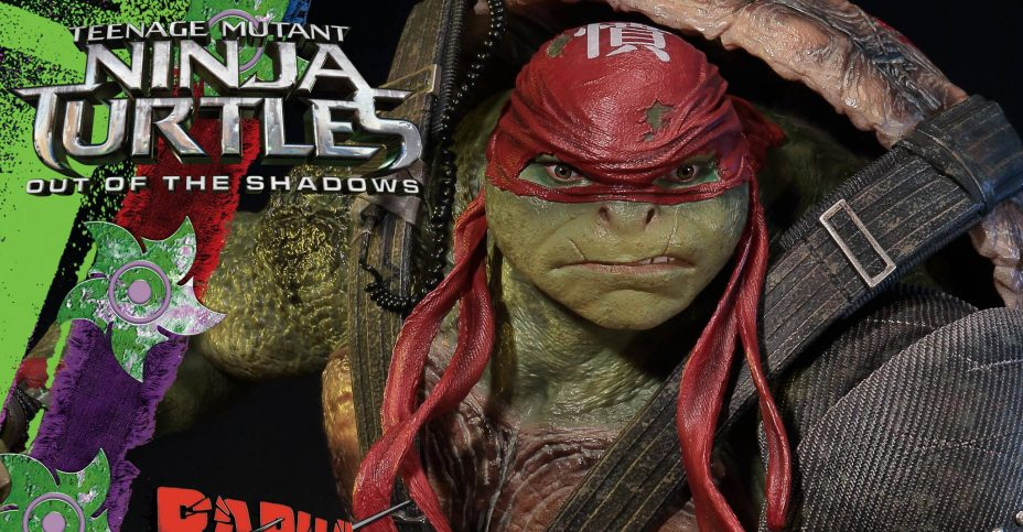 Prime 1 TMNT Out of the Shadows Raphael 012