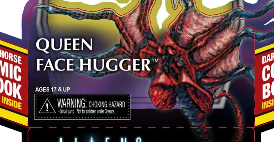 Queen Facehugger Insert