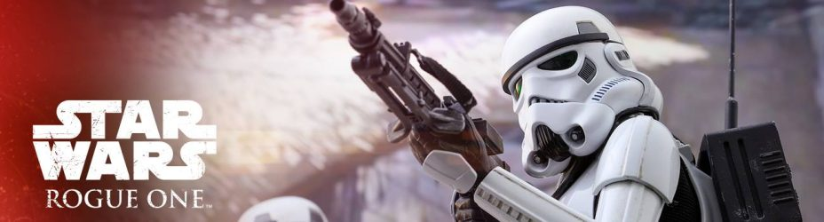 Rogue One Jedha Patrol Stormtrooper Hot Toys