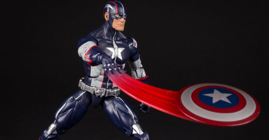 Secret Wars Captain America Marvel Legends 12