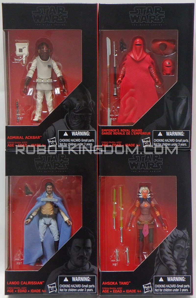 Star Wars 2016 The Black Series Emperors Royal Guard Exclusive Action Figure 3.75 Inches Red Hasbro Toys