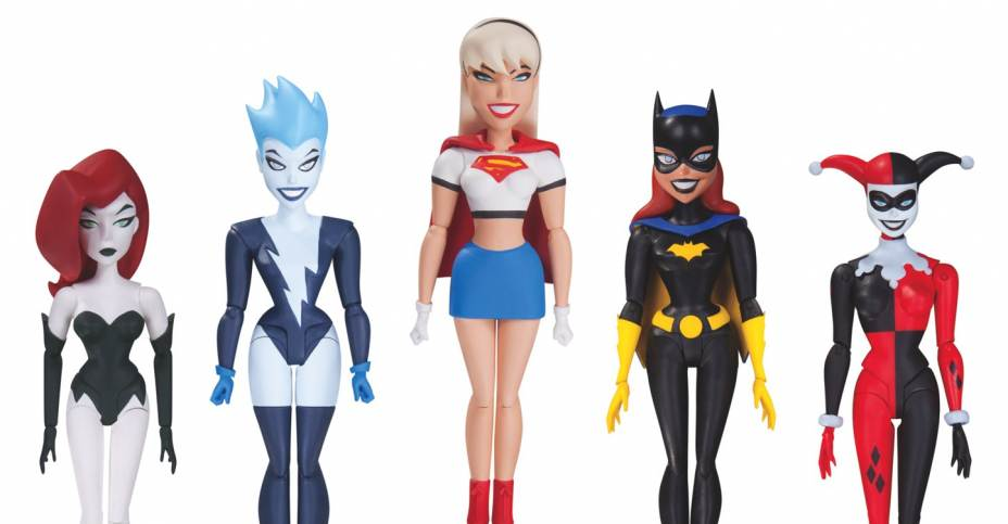Batman Animated Girls Night Out Set