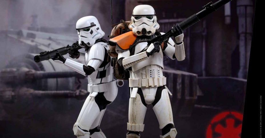 Hot Toys Rogue One Stormtrooper Set 002