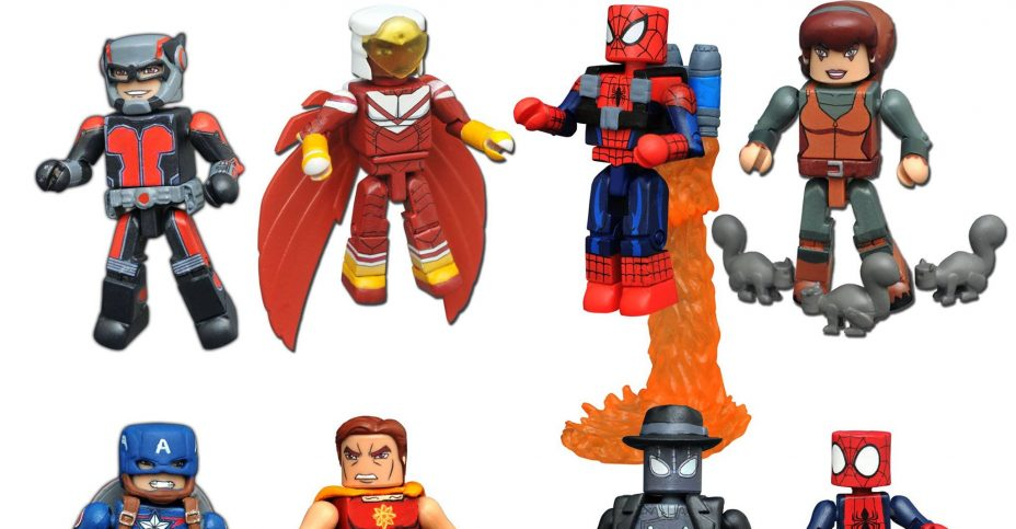 Marvel Animated Minimates Series 3 DST 006