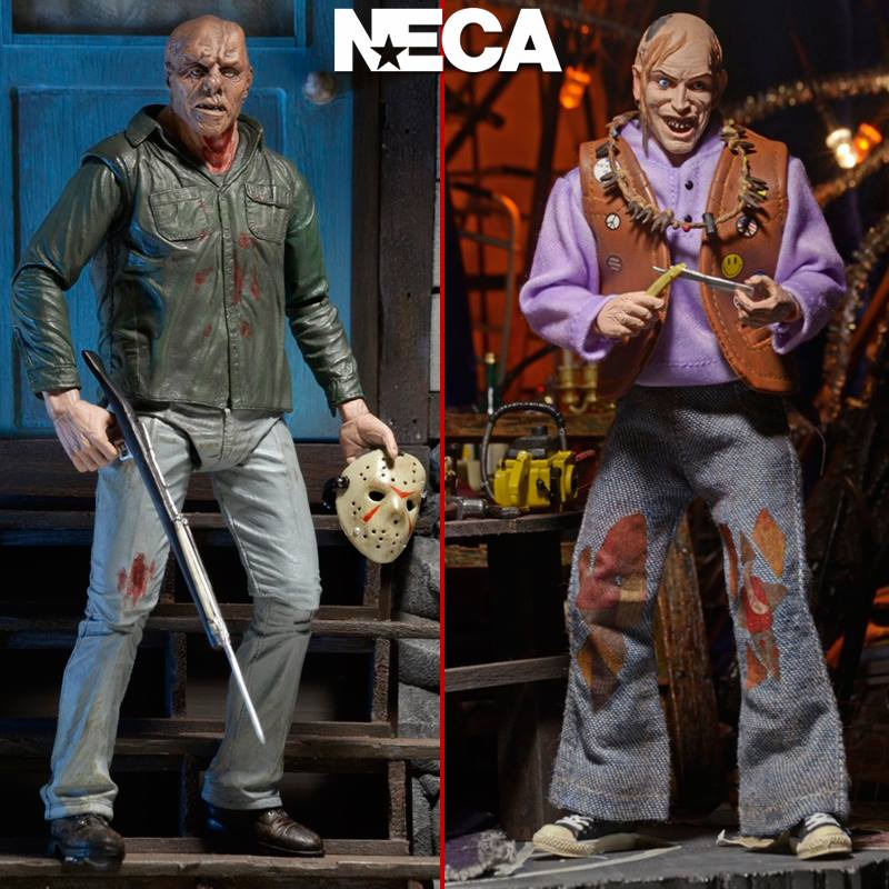 NECA TCM2 Chop Top and Friday the 13th Part 3 Jason In Stock - The