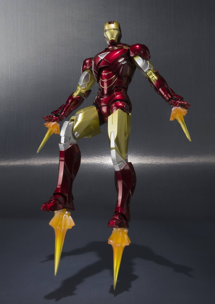U.S. Release of Iron Man Mark 6 and Hall of Armor Set ...