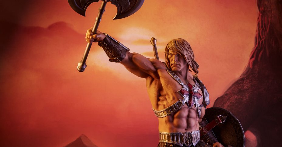 Sideshow MOTU He Man Production Statue 018