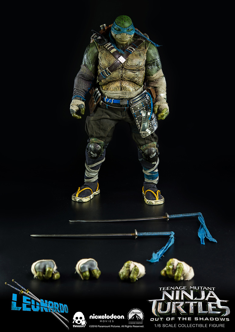 Threezero Bebop TMNT Out of the Shadows Ninja Turtles 1//6 Scale Figure
