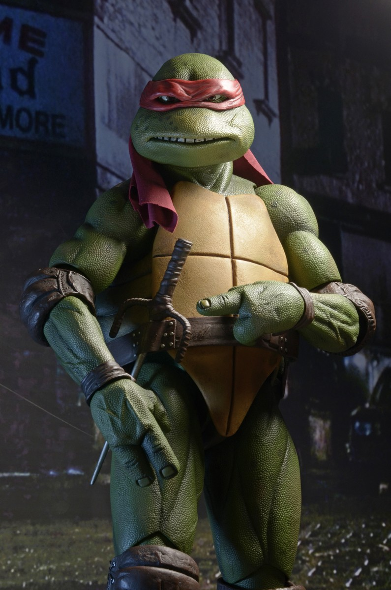 neca 14 scale tmnt 1990 movie raphael official photos and